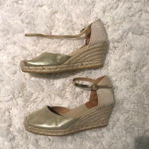 Espadrille Wedge Heels